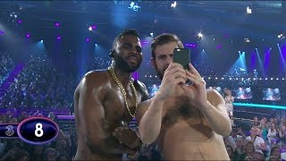Pär Lernströms naked selfie with Jason Derulo (Swedish Idol 2015) - Idol Sverige (TV4)