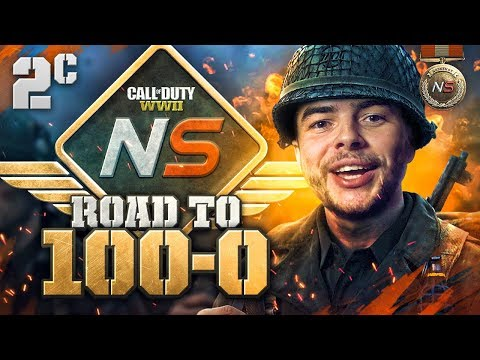 Road to 100-0! - Ep. 2C - Last Map, Must Win! (Call of Duty:WW2 Gamebattles)