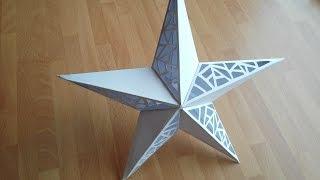 DIY 3D Star Tutorial  | Gör Det Själv: 3D Stjärna
