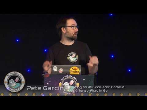 GopherCon 2017 - Lightning Talk: Pete Garcin - Building an ML-Powered Game AI Using TensorFlow in Go