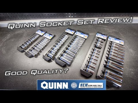 NEW! Quinn Sockets From Harbor Freight Tools - Review and First Impressions