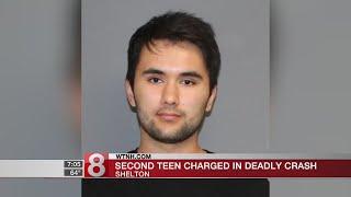 Second teen arrested in Shelton fatal crash