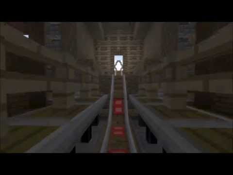 Minecraft ConsoleCrafters Rollercoaster PS4 PS3 Map Download