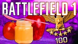 TASTY APPLE SAUCE - BATTLEFIELD 1 (Road to Max Rank #42)(PS4)