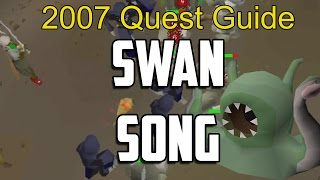 Runescape 2007 Swan Song Quest Guide