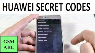 SECRET CODES Huawei Mate 8, Honor 8, P9, Lite | Tips and Tricks
