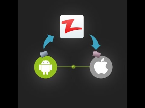 Zapya file sharing between ios and android