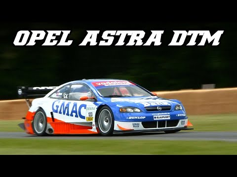 Opel Astra V8 Coupé DTM - flyby's and walkaround