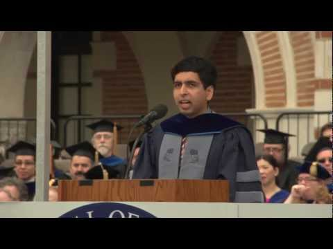 Salman Khan at Rice University's 2012 commencement