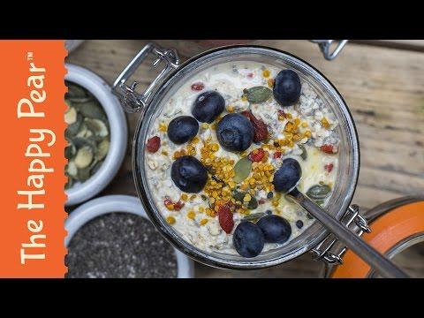 How to make Bircher Muesli - SUPERFOOD  Healthy Breakfast Recipe!