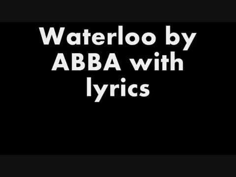 Waterloo - ABBA with lyrics