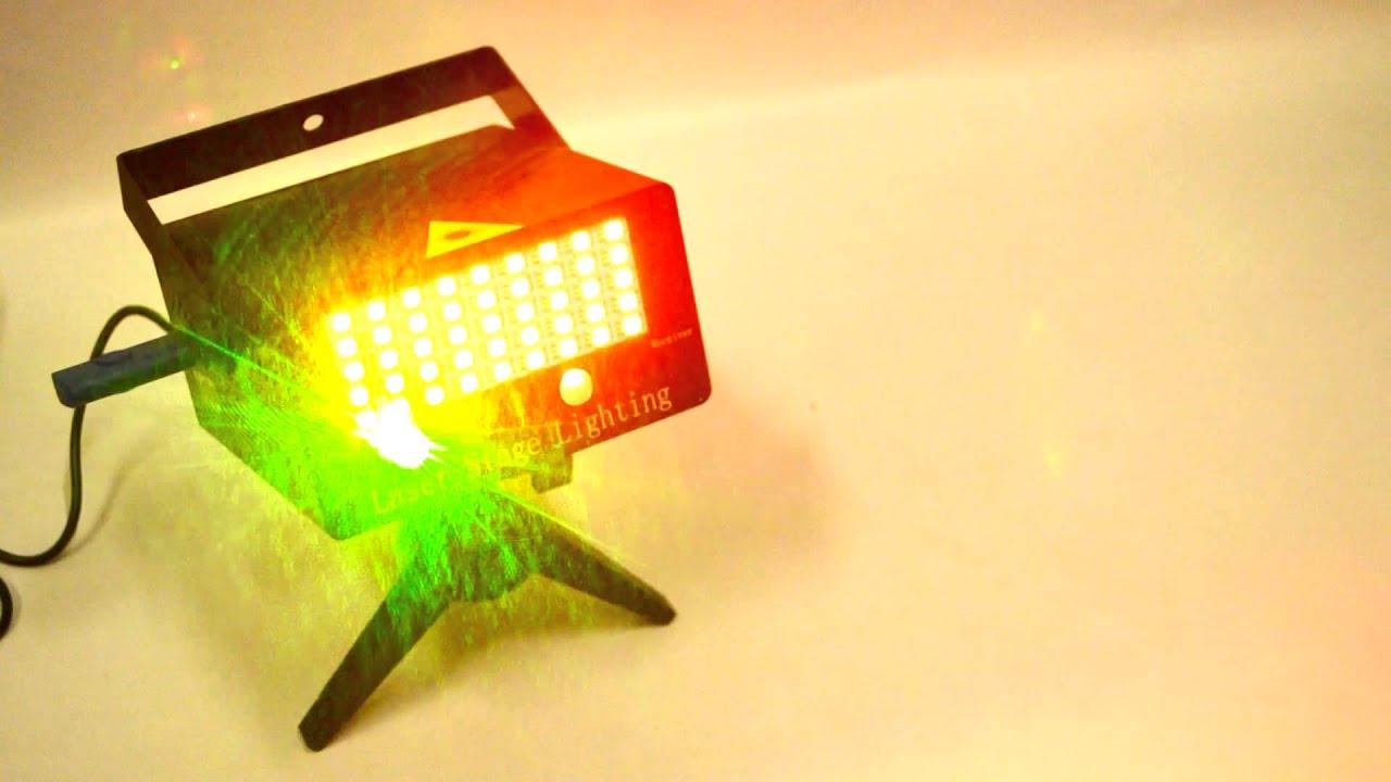 Лазерный проектор MINI-10 - YouTube