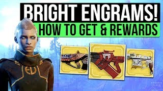 DESTINY 2 | How to Get Bright Engrams, Exotic Ornaments, Ghost Shells, Exotic Vehicles & More!