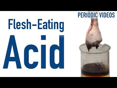 Flesh-Eating Hydrofluoric Acid - Periodic Table of Videos