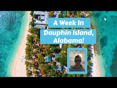 A week in the life in Dauphin Island, Alabama