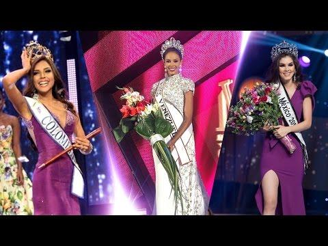 2017 Miss Universe - Colombia Venezuela Mexico