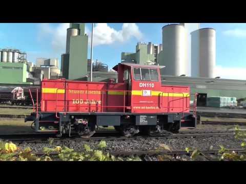 Industrial railway Dyckerhoff cement plant Lengerich