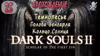25 Dark Souls 2 SotFS Темнолесье Голова Венгарла и кольцо Солнца