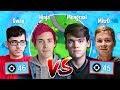 FaZe Sway & Ninja *SUPER INTENSE* vs Mongraal & Mitr0 in Friday Fortnite!