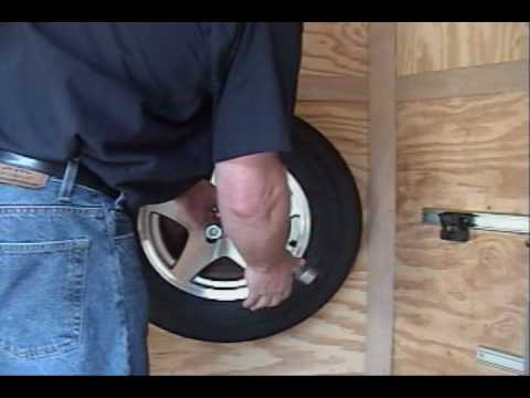 Load Locker Tire Mount And Lug Wrench Mount Wmv Youtube