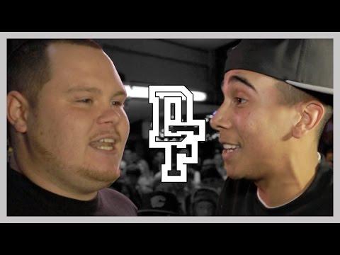 BIG J VS BRU-C | Don't Flop Rap Battle