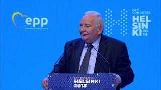 EPP Helsinki Congress - Joseph Daul, EPP President |  Commencement of Voting Procedure