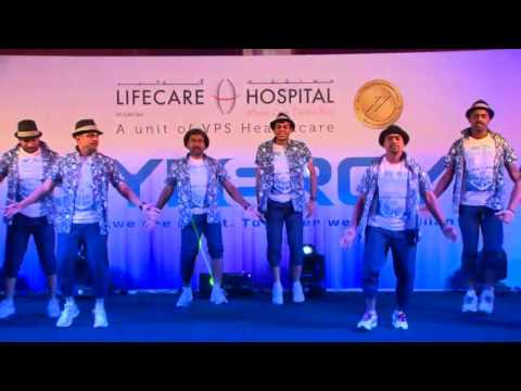 Maria Pitache Lifecare Hospital Dance Performance