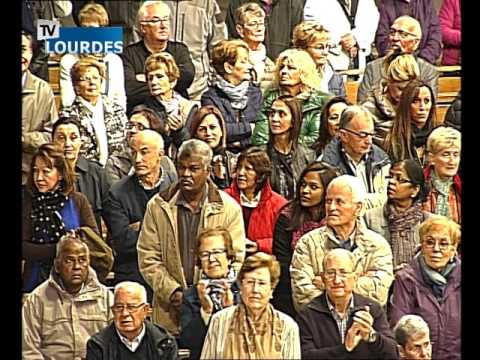 Lourdes Messe Internationale du dimanche 11 oct. 2015-International Mass (France)