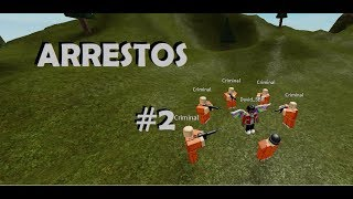 Compilation of #02 Arrests Roblox[Jailbreak] David SBP