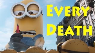 every death in minions be surprised