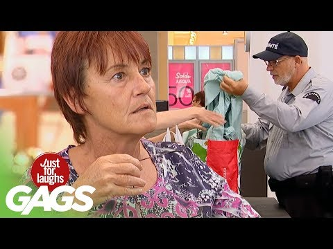Customers Caught with Dildos Prank! - Just For Laughs Gags