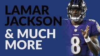 Lamar Jackson Hasn't Done Much As A Passer But Will Be A Fantasy Football Cheat Code If He Learns