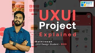 UX UI Project Explained by my student Kathiresan | UXUI Design Process in Tamil | UX UI Tamil