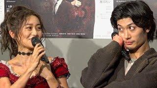 舞台『罪と罰』初日前会見が2019年1月8日に行われ、三浦春馬、大島優子...