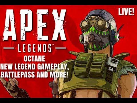 Apex Legends Live, Octane Gameplay,Battlepass 3500 + Kills, PS4 Live Gameplay