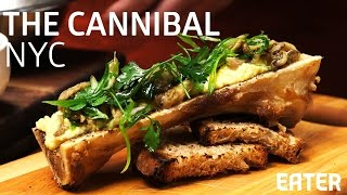 High-Class Chili Dogs and Bone Marrow Brulee: A Feast at The Cannibal, NYC