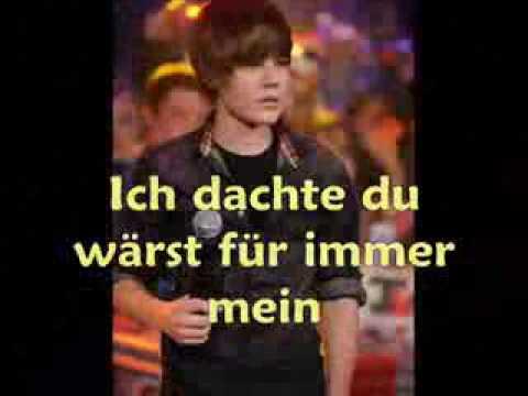 Justin Bieber- Baby(deutsche übersetzung)
