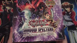 Yugioh Shadow Specters Special Edition Box Opening