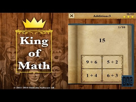 King of Math (HD GamePlay)