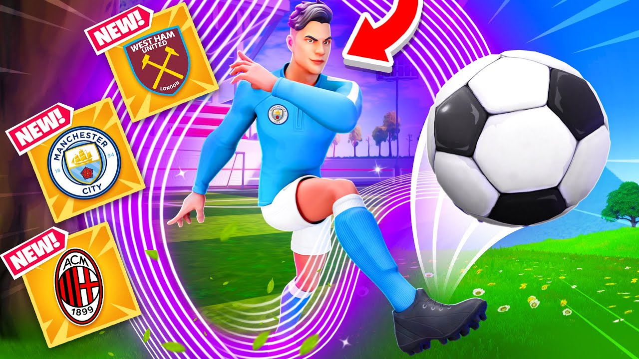 *NEW* FREE SKINS UPDATE in Fortnite! (FOOTBALL COLLAB, NEW PORTAL + MORE)