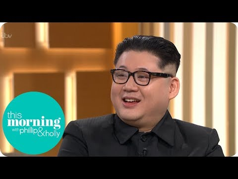 """Kim Jong-Un"" Joins Holly & Phillip on the This Morning Sofa 