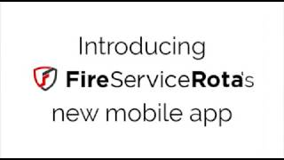FireServiceRota app v3 sneak preview