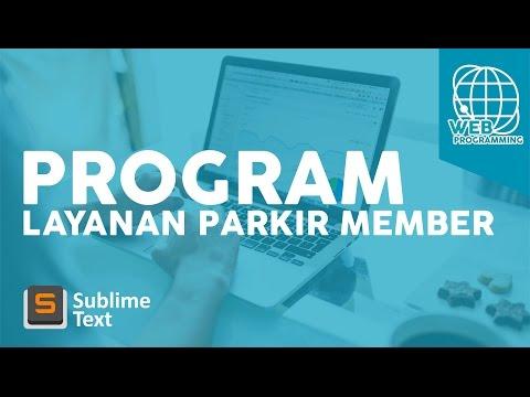 Program Parkir Member | Web Programming