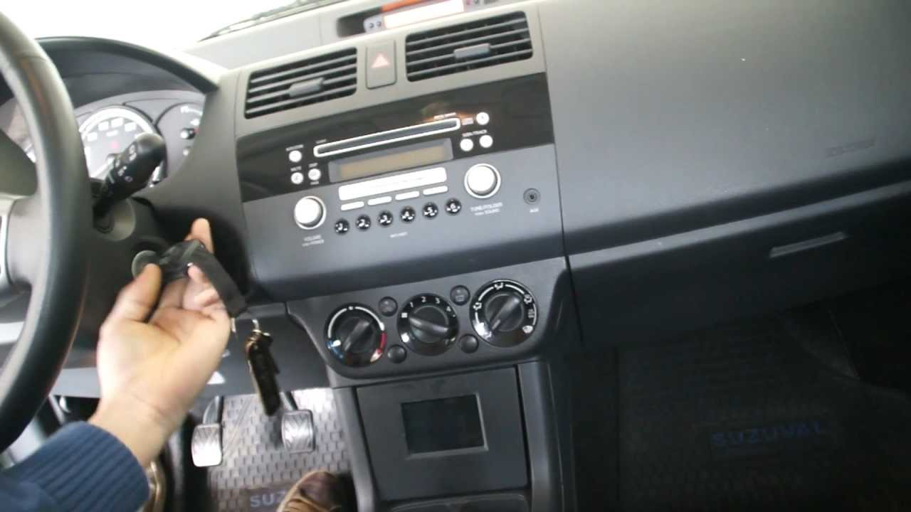 Ipod Car Mount Suzuki Swift Youtube