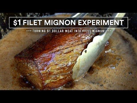 Turning $1 Steak into FILET MIGNON using Sous Vide