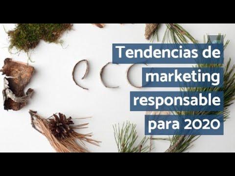Tendencias de marketing responsable para 2020
