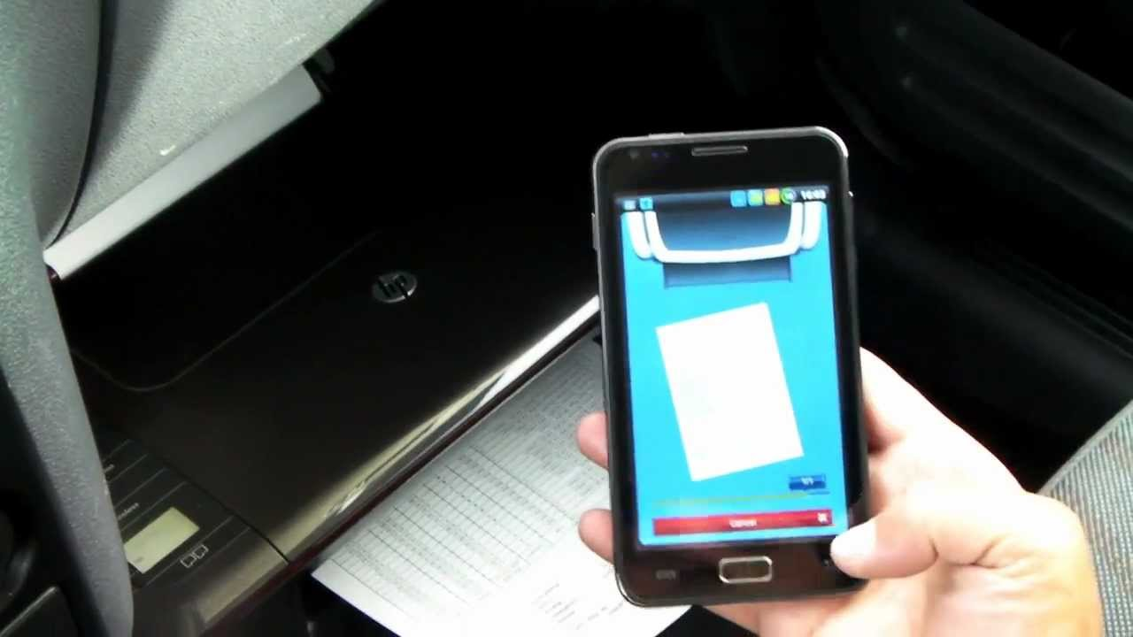 How to print wirelessly, without a router, using Android smartphone ...
