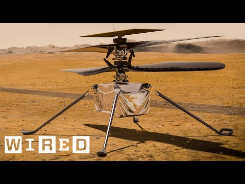 How NASA Engineered a Helicopter for Mars | WIRED