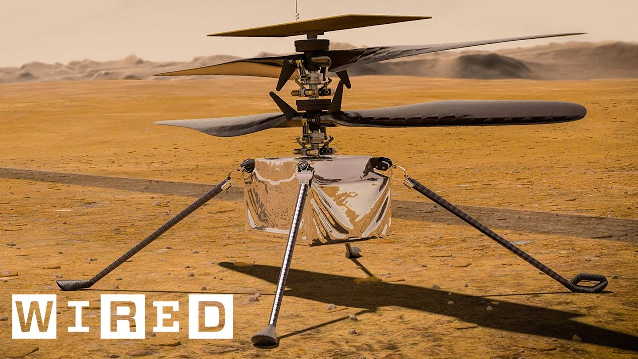 How NASA Engineered a Helicopter for Mars