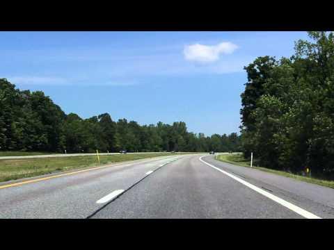Adirondack Northway (Interstate 87 Exits 35 to 38) northbound